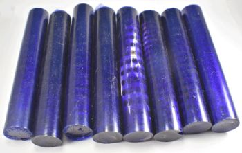SHARK VERTEBRAE PEN BLANK PURPLE - 1